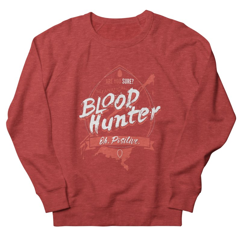 D&D Blood Hunter Women's French Terry Sweatshirt by Carl Huber's Artist Shop