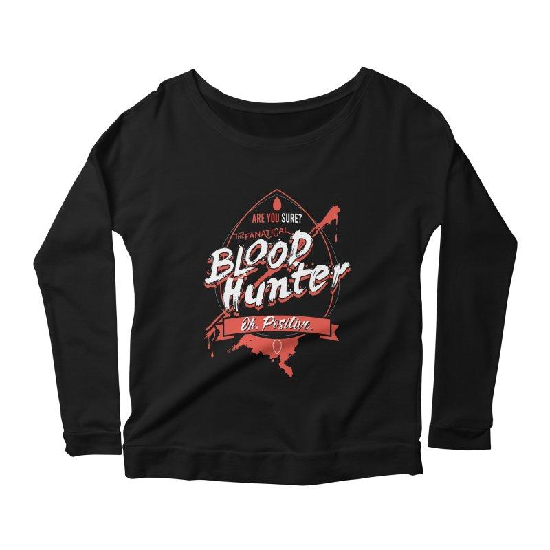D&D Blood Hunter Women's Scoop Neck Longsleeve T-Shirt by carlhuber's Artist Shop