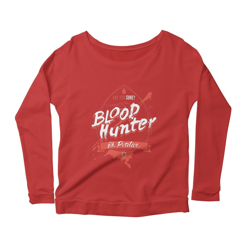 D&D Blood Hunter Women's Scoop Neck Longsleeve T-Shirt by carlhuber's Artist Shop