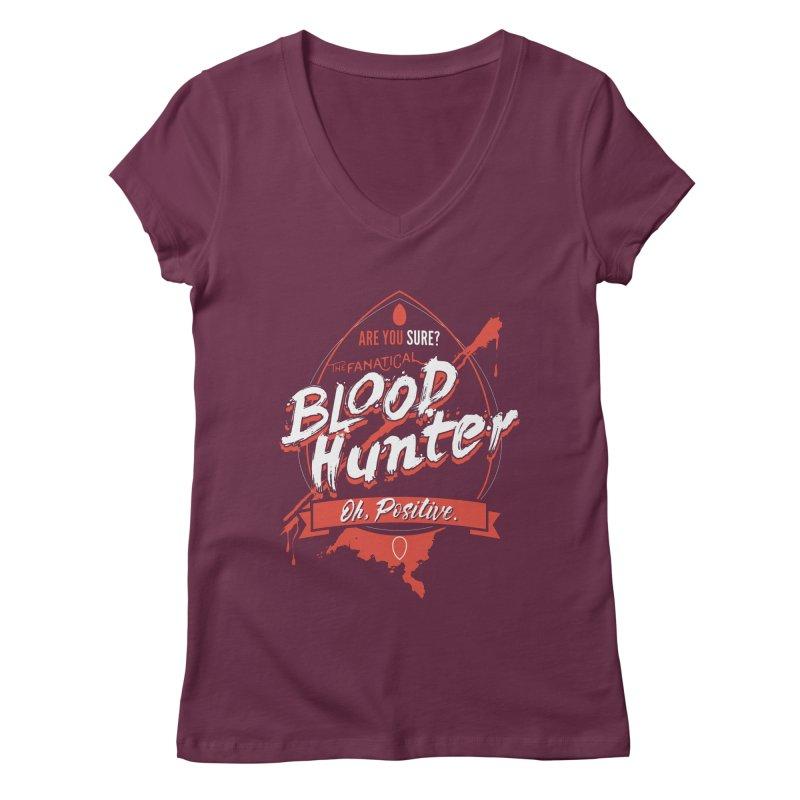 D&D Blood Hunter Women's Regular V-Neck by carlhuber's Artist Shop