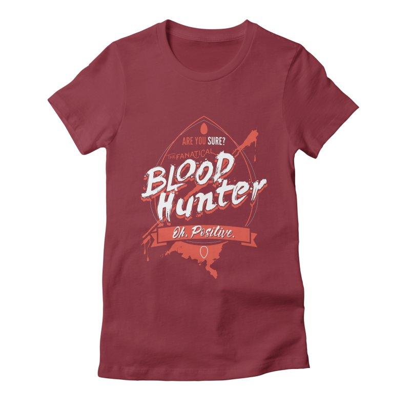 D&D Blood Hunter Women's Fitted T-Shirt by carlhuber's Artist Shop