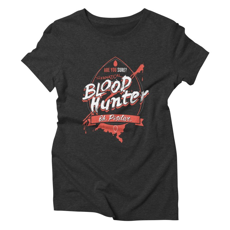 D&D Blood Hunter Women's Triblend T-Shirt by carlhuber's Artist Shop