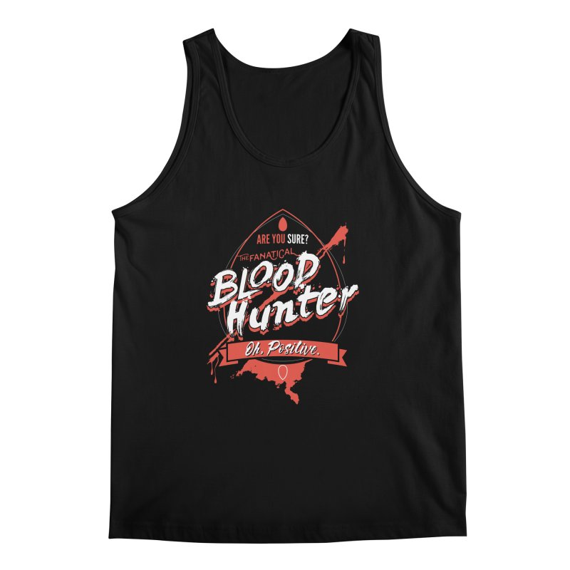 D&D Blood Hunter Men's Regular Tank by Carl Huber's Artist Shop