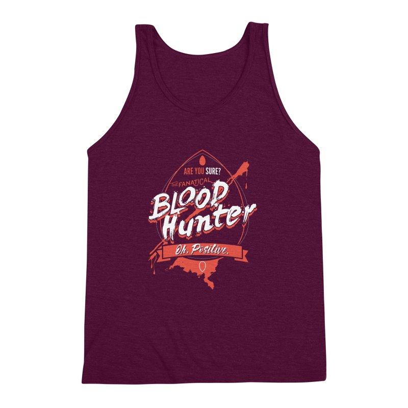 D&D Blood Hunter Men's Triblend Tank by carlhuber's Artist Shop