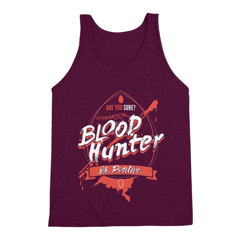 D&D Blood Hunter Men's Triblend Tank by Carl Huber's Artist Shop