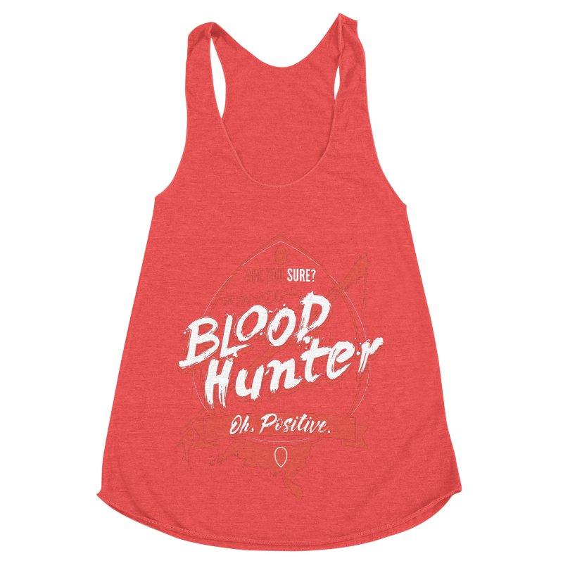 D&D Blood Hunter Women's Racerback Triblend Tank by Carl Huber's Artist Shop
