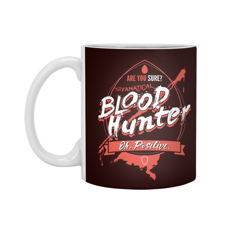 D&D Blood Hunter Accessories Mug by carlhuber's Artist Shop