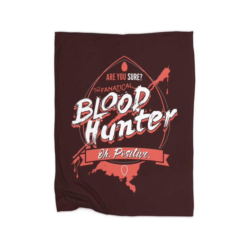 D&D Blood Hunter Home Fleece Blanket Blanket by Carl Huber's Artist Shop