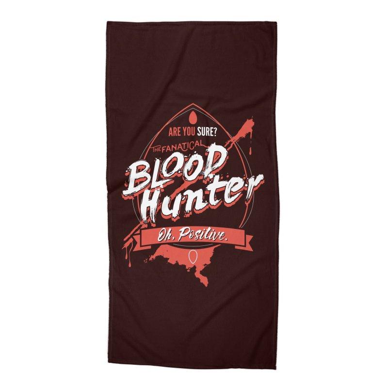 D&D Blood Hunter Accessories Beach Towel by Carl Huber's Artist Shop