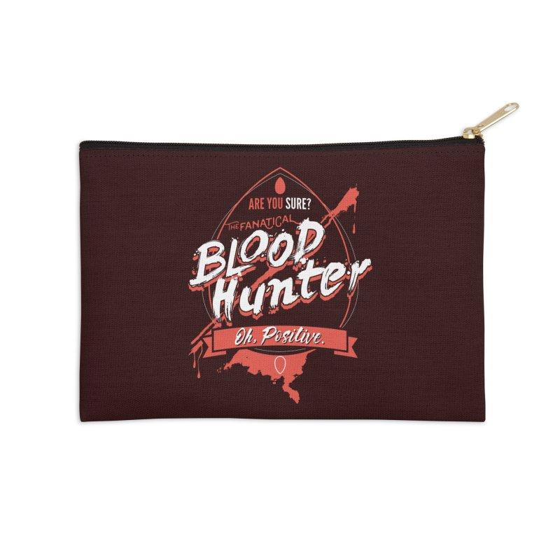 D&D Blood Hunter Accessories Zip Pouch by Carl Huber's Artist Shop