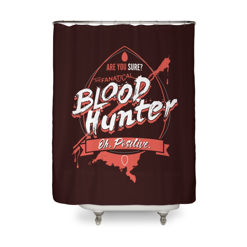 D&D Blood Hunter Home Shower Curtain by Carl Huber's Artist Shop