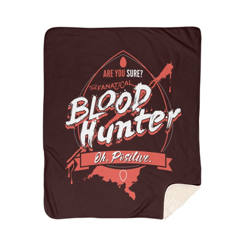 D&D Blood Hunter Home Sherpa Blanket Blanket by Carl Huber's Artist Shop