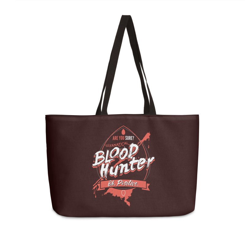 D&D Blood Hunter Accessories Weekender Bag Bag by Carl Huber's Artist Shop