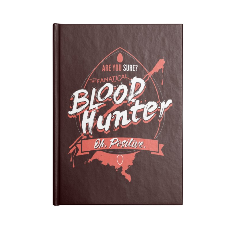 D&D Blood Hunter Accessories Blank Journal Notebook by Carl Huber's Artist Shop