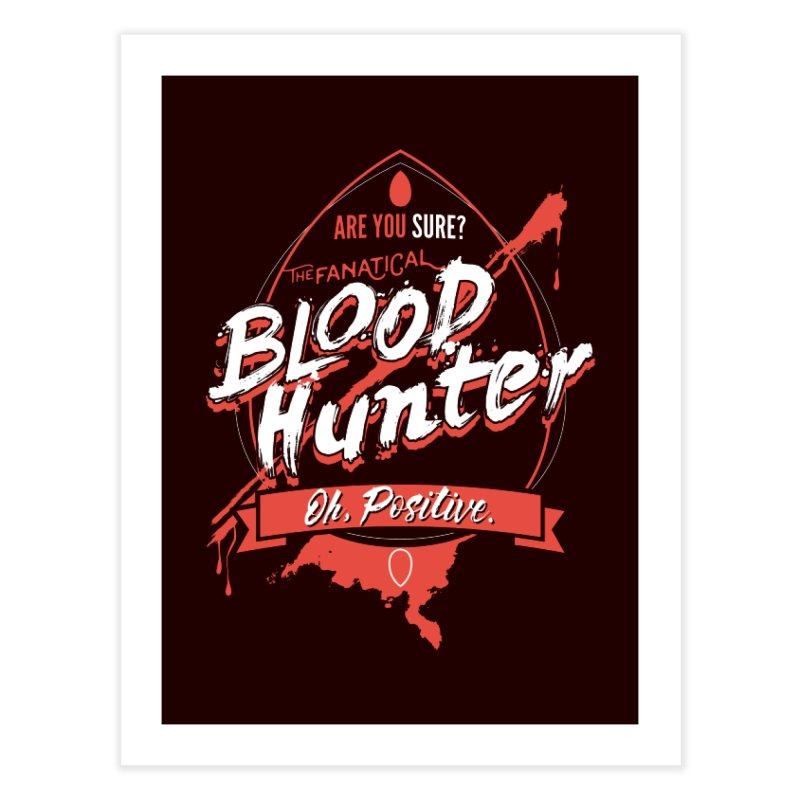 D&D Blood Hunter Home Fine Art Print by Carl Huber's Artist Shop