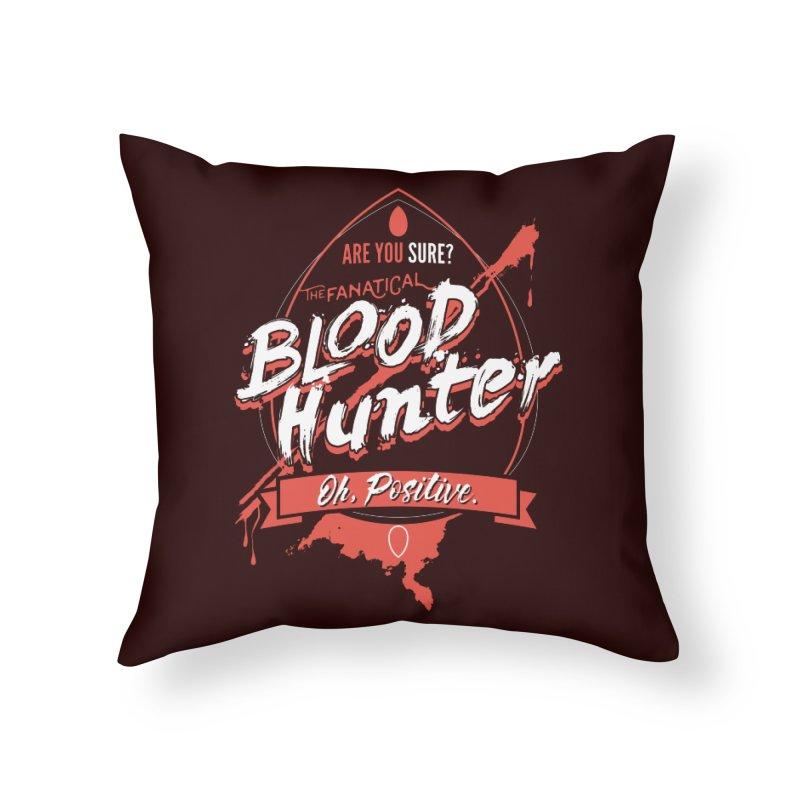 D&D Blood Hunter Home Throw Pillow by Carl Huber's Artist Shop