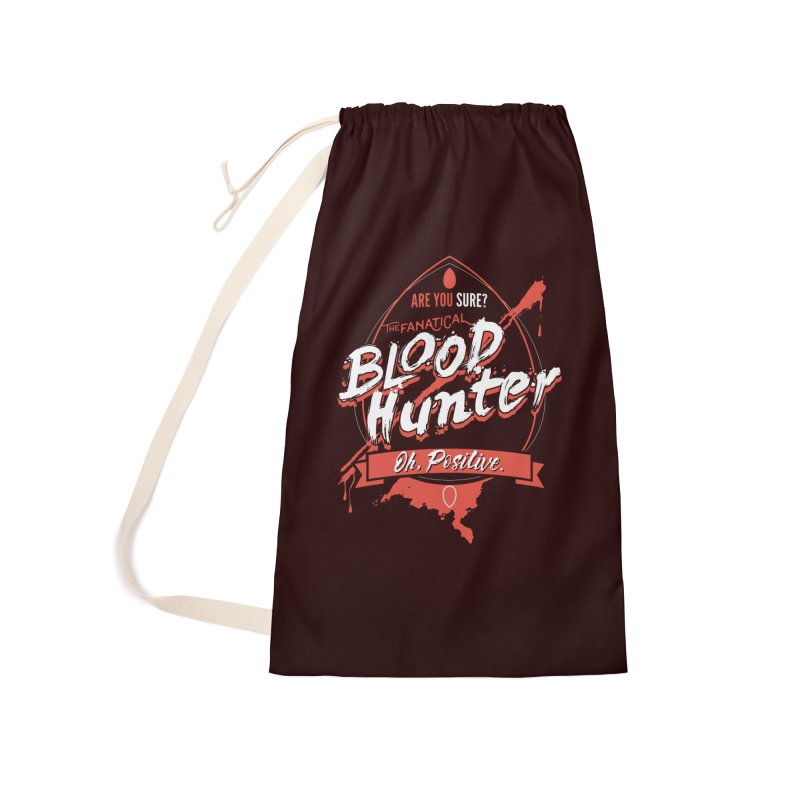D&D Blood Hunter Accessories Laundry Bag Bag by Carl Huber's Artist Shop