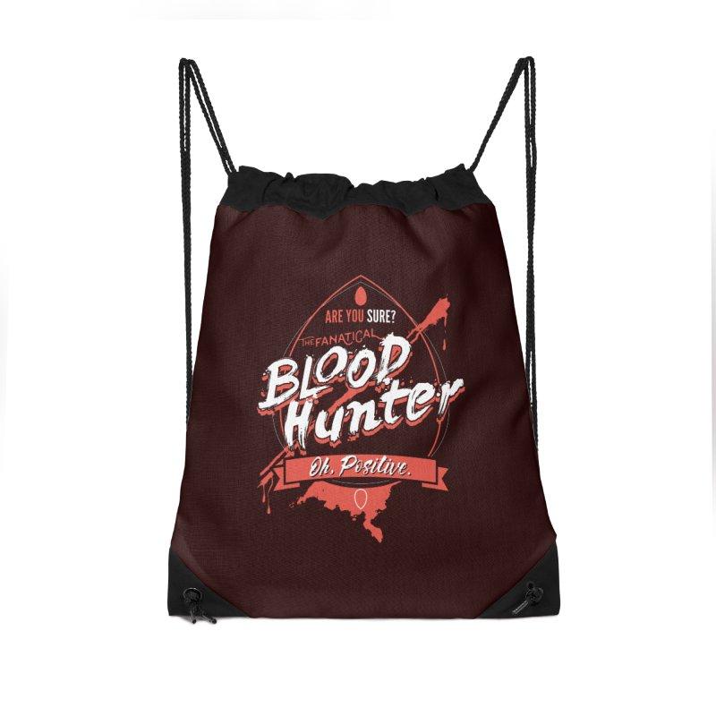 D&D Blood Hunter Accessories Drawstring Bag Bag by Carl Huber's Artist Shop