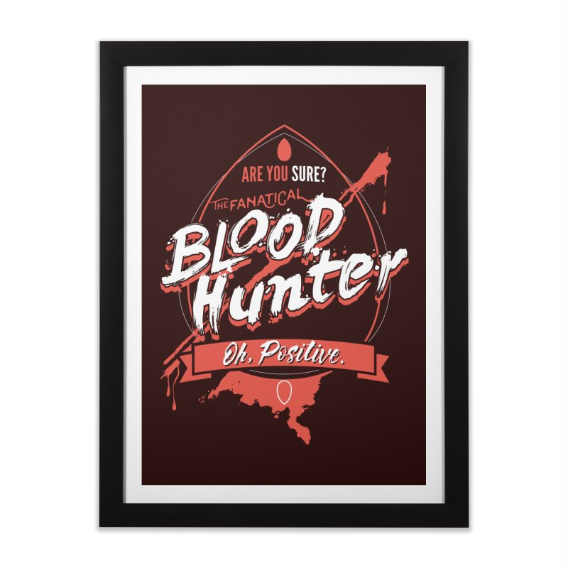 D&D Blood Hunter Home Framed Fine Art Print by carlhuber's Artist Shop