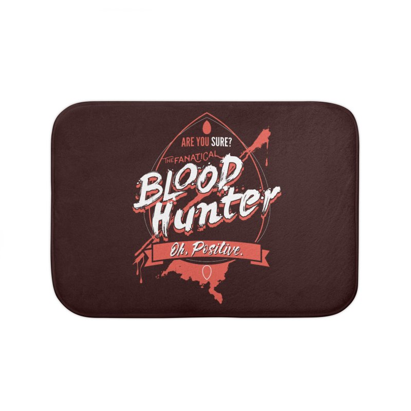 D&D Blood Hunter Home Bath Mat by Carl Huber's Artist Shop