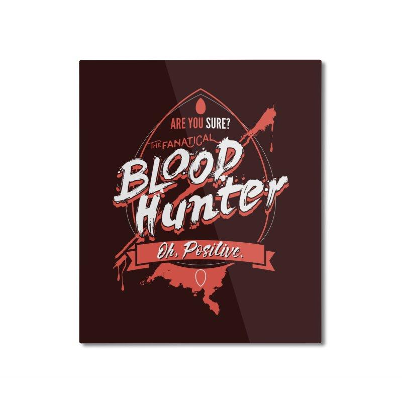 D&D Blood Hunter Home Mounted Aluminum Print by carlhuber's Artist Shop