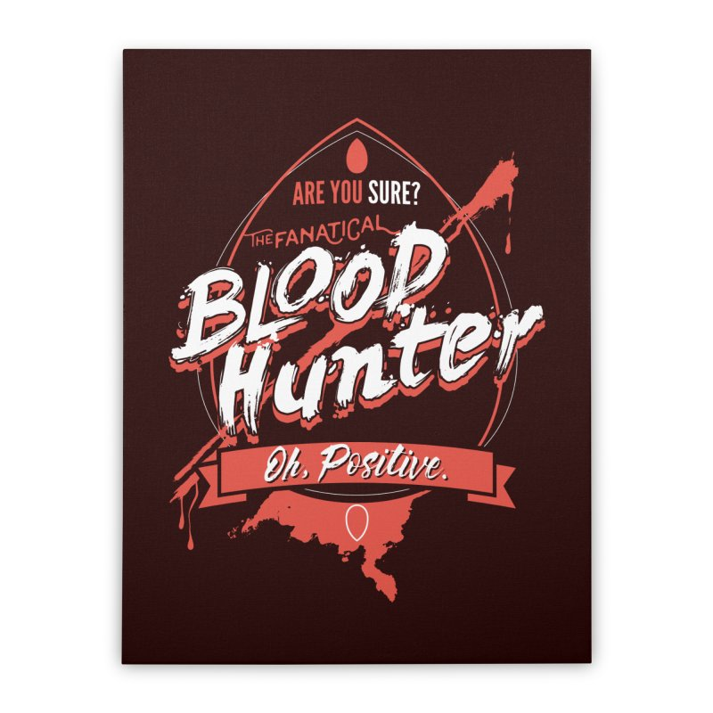 D&D Blood Hunter Home Stretched Canvas by Carl Huber's Artist Shop