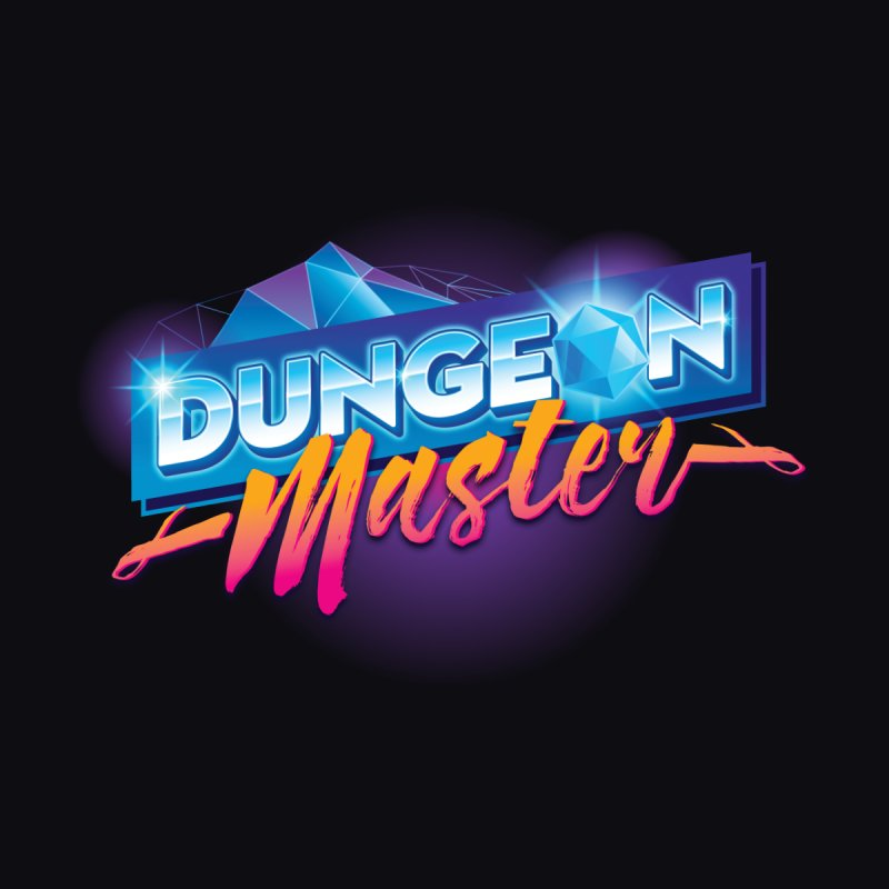 Dungeons and Dragons Master OutRun Men's V-Neck by carlhuber's Artist Shop