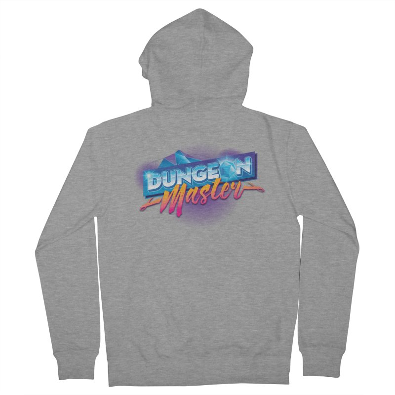 Dungeons and Dragons Master OutRun Women's French Terry Zip-Up Hoody by carlhuber's Artist Shop