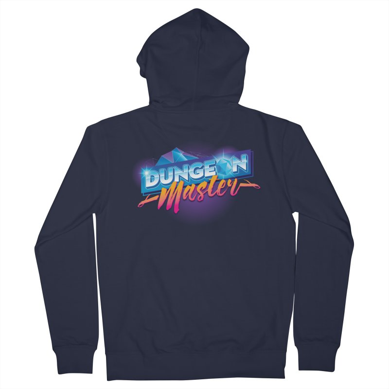 Dungeons and Dragons Master OutRun Women's French Terry Zip-Up Hoody by Carl Huber's Artist Shop