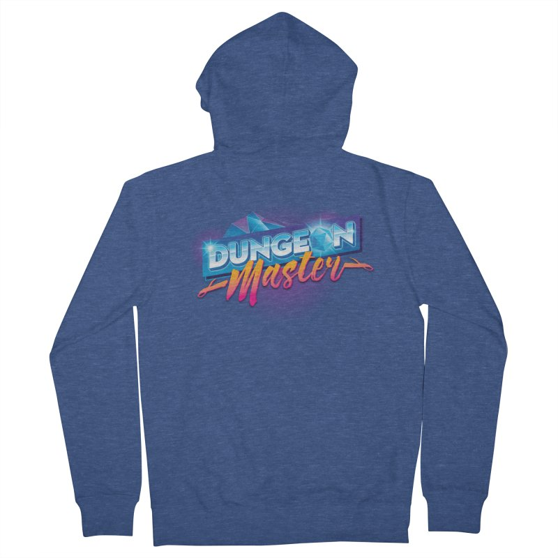 Dungeons and Dragons Master OutRun Men's Zip-Up Hoody by carlhuber's Artist Shop