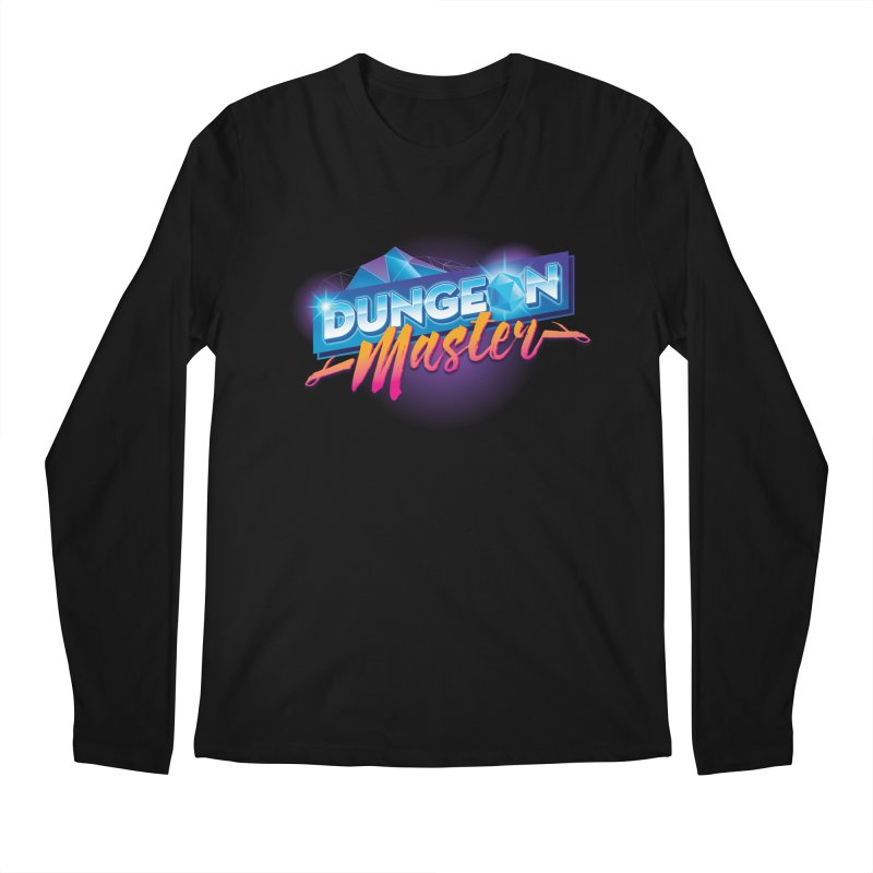 Dungeons and Dragons Master OutRun Men's Longsleeve T-Shirt by carlhuber's Artist Shop