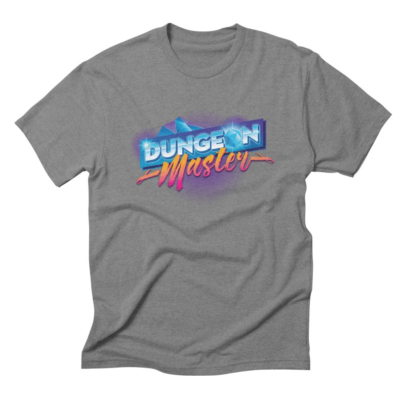 Dungeons and Dragons Master OutRun Men's Triblend T-Shirt by carlhuber's Artist Shop