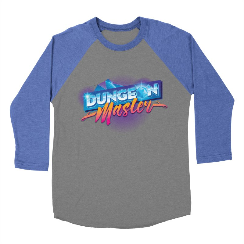 Dungeons and Dragons Master OutRun Women's Baseball Triblend T-Shirt by carlhuber's Artist Shop