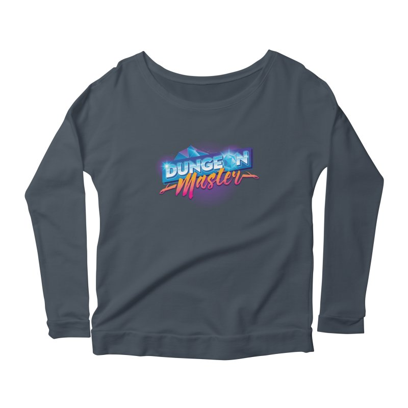 Dungeons and Dragons Master OutRun Women's Longsleeve Scoopneck  by carlhuber's Artist Shop