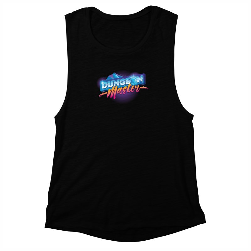 Dungeons and Dragons Master OutRun Women's Muscle Tank by carlhuber's Artist Shop