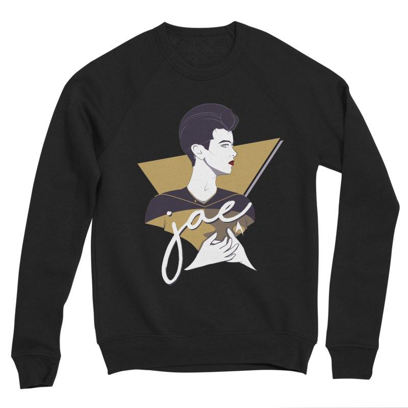 Space Lieutenant Men's Sponge Fleece Sweatshirt by Carl Huber's Artist Shop