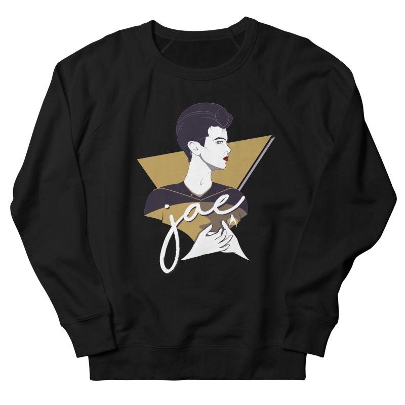Space Lieutenant Men's French Terry Sweatshirt by Carl Huber's Artist Shop