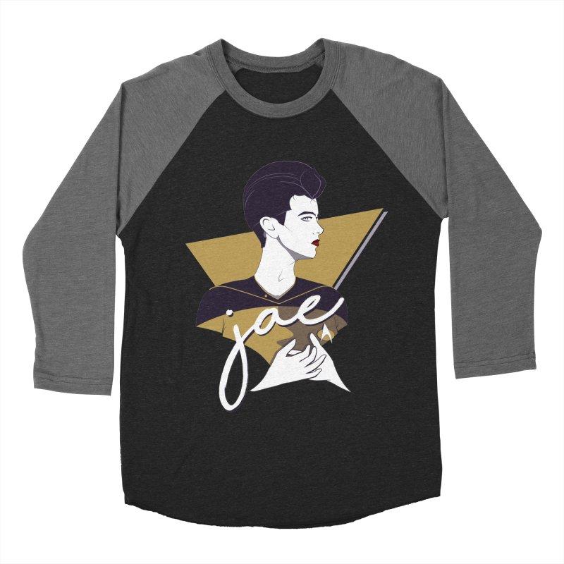 Space Lieutenant Women's Baseball Triblend Longsleeve T-Shirt by Carl Huber's Artist Shop