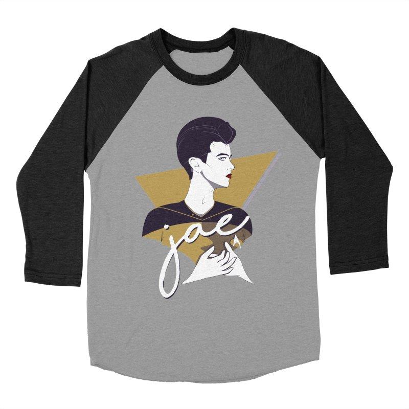 Space Lieutenant Men's Baseball Triblend Longsleeve T-Shirt by Carl Huber's Artist Shop