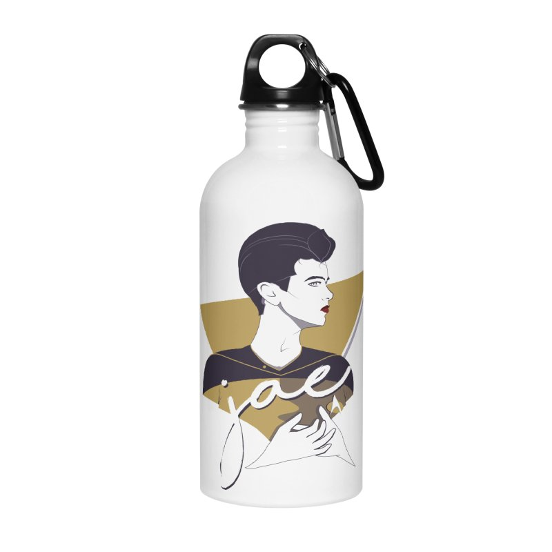 Space Lieutenant Accessories Water Bottle by Carl Huber's Artist Shop