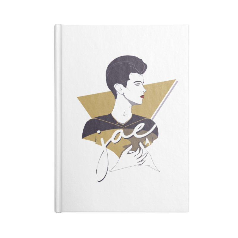 Space Lieutenant Accessories Lined Journal Notebook by Carl Huber's Artist Shop