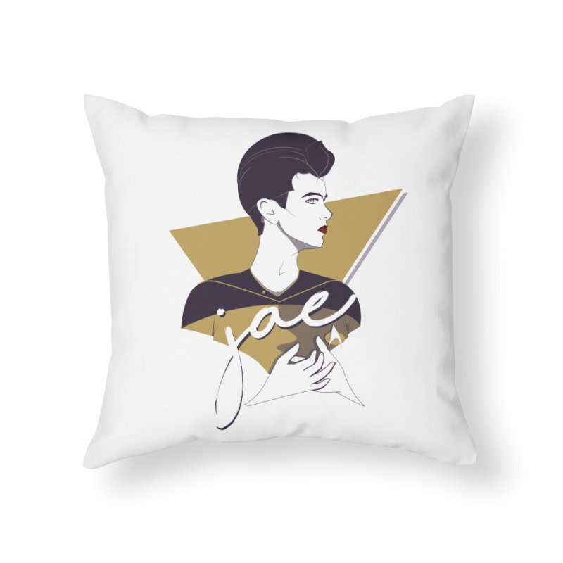 Space Lieutenant Home Throw Pillow by carlhuber's Artist Shop