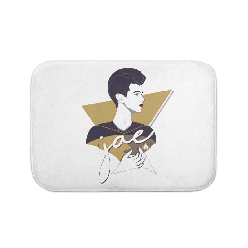 Space Lieutenant Home Bath Mat by Carl Huber's Artist Shop