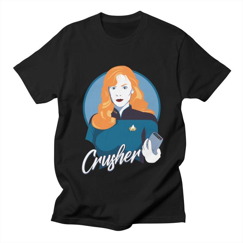 Space Doctor Women's Regular Unisex T-Shirt by Carl Huber's Artist Shop