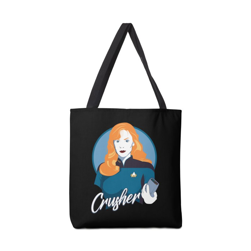 Space Doctor Accessories Tote Bag Bag by Carl Huber's Artist Shop