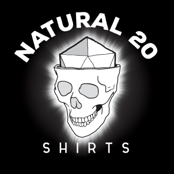 Natural 20 Shirts Logo