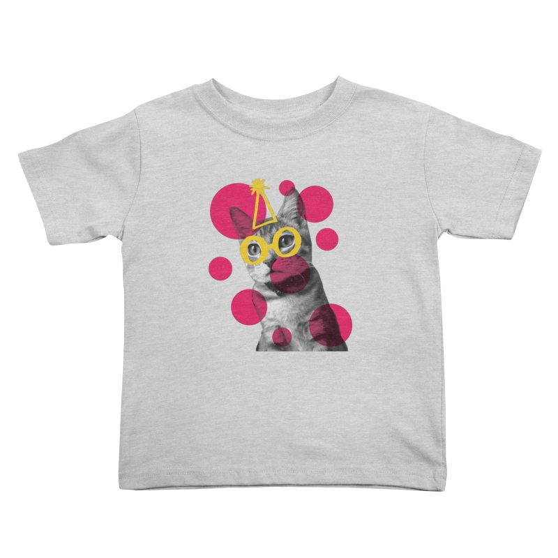 Kitten Party Kids Toddler T-Shirt by carlijaynedesigns's Artist Shop