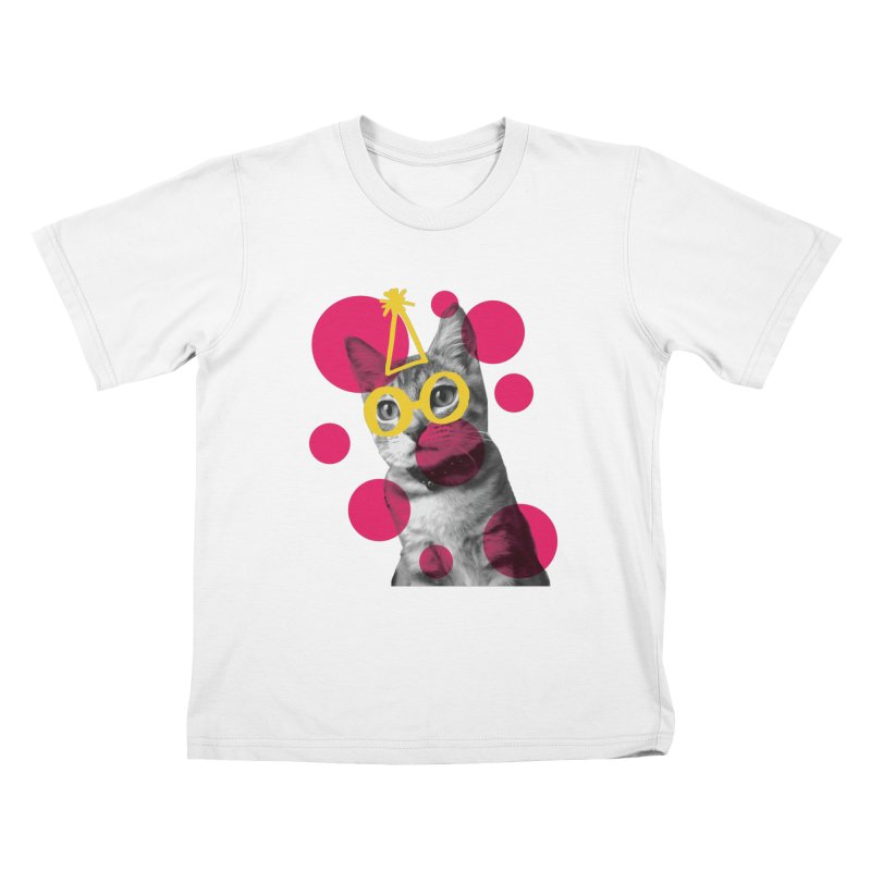 Kitten Party Kids T-shirt by carlijaynedesigns's Artist Shop