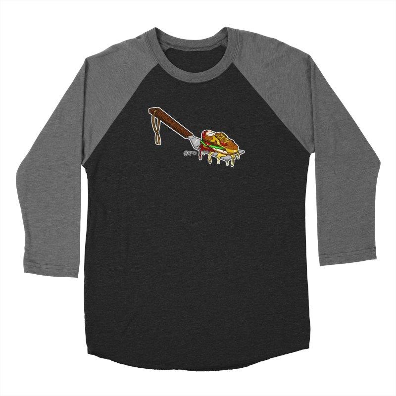 Fresh Kicks off the Grill Women's Longsleeve T-Shirt by Carlos E Mendez Art - Featured Design (CLICK HERE)