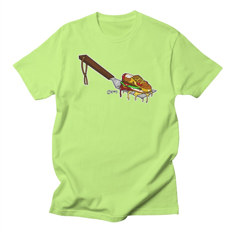 Fresh Kicks off the Grill Men's T-Shirt by Carlos E Mendez Art